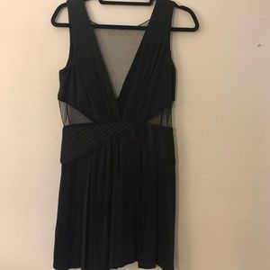 BCBGMaxAzria Black Cutout Dress